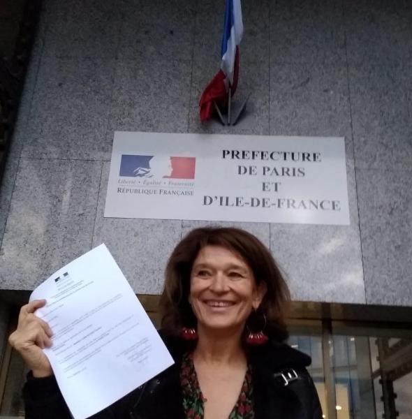 Tête de liste dans le 17e arrondissement de Paris  : Claudine Labroquere portera les couleurs du PCD